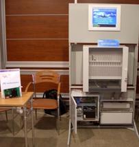 Панельный компьютер САУ ГРС, шкаф контроллера ШкК